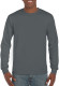 Gildan Ultra Cotton T-shirt Longsleeve Unisex - Charcoal