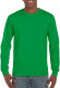 Gildan Ultra Cotton T-shirt Longsleeve Unisex - Irish green