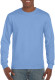 Gildan Ultra Cotton T-shirt Longsleeve Unisex - Carolina blue