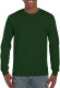 Gildan Ultra Cotton T-shirt Longsleeve Unisex - Forest green
