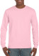 Gildan Ultra Cotton T-shirt Longsleeve Unisex - Light pink