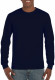 Gildan Ultra Cotton T-shirt Longsleeve Unisex - Navy