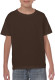 Gildan Heavyweight T-shirt Kids - Dark chocolate