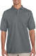 Gildan Pique Polo Heren - Charcoal
