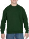 Gildan Heavy Blend Crewneck Sweater Kids - Forest green