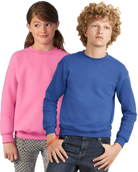 Relatiegeschenk Gildan Heavy Blend Crewneck Sweater Kids