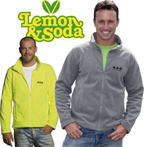 Relatiegeschenk Lemon & Soda cardigan Oakland for him