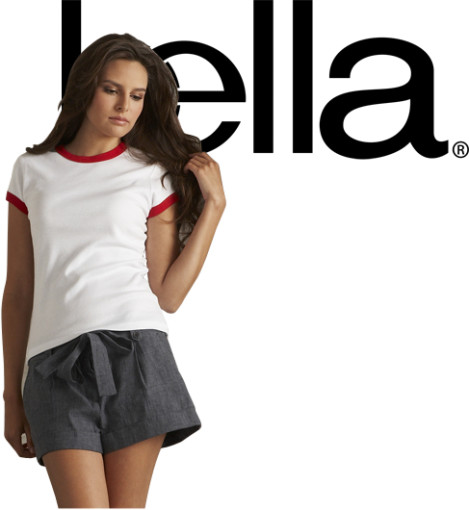 Relatiegeschenk Bella ladies short sleeve ringer