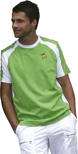 Relatiegeschenk Lemon & Soda t-shirt Pebble Beach for him bedrukken