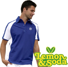 Relatiegeschenk Lemon & Soda polo Malibu for him