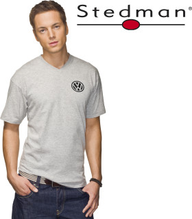 Relatiegeschenk Stedman Classic V-Neck t-shirt for him