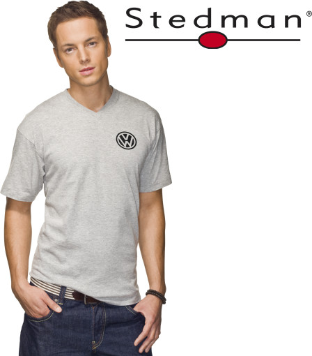 Relatiegeschenk Stedman Classic V-Neck t-shirt for him bedrukken