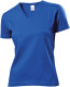 Stedman Classic V-neck T-shirt Dames - Bright royal