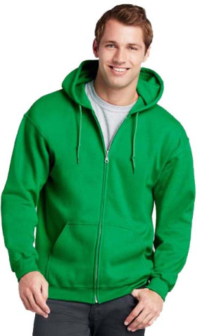 Relatiegeschenk Gildan Full Zip Hooded Vest Heren