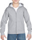 Gildan Full Zip Hooded Vest Kids - Sport grey