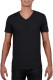 Gildan Soft Style V-neck T-shirt Heren - Zwart