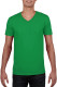 Gildan Soft Style V-neck T-shirt Heren - Irish green