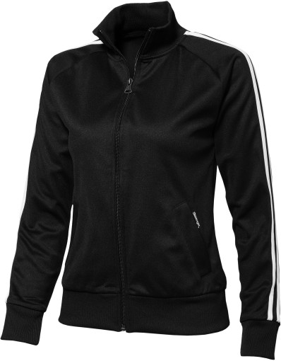 Relatiegeschenk Slazenger Court Ladies full zip sweater bedrukken