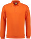 Lemon & Soda Collar Polo Longsleeve Heren - Oranje