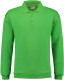 Lemon & Soda Collar Polo Longsleeve Heren - Lime