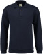 Lemon & Soda Collar Polo Longsleeve Heren - Navy