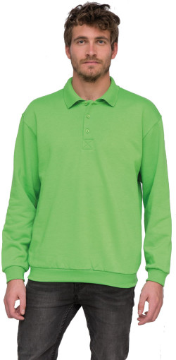Relatiegeschenk Lemon & Soda Collar Polo Longsleeve Heren
