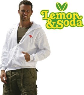 Relatiegeschenk Lemon & Soda Hooded Sweat Cardigan