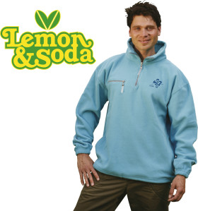 Relatiegeschenk Lemon & Soda polar fleece comfort sweater