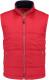 Lemon & Soda Nova Scotia Bodywarmer Unisex - Rood