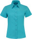 Lemon & Soda Madison Overhemd Dames - Turquoise