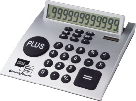 Relatiegeschenk CrisMa PLUS bureau calculator