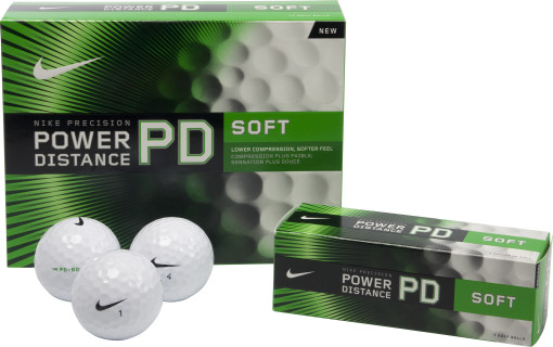 Relatiegeschenk Nike Golfbal Power Distance Soft