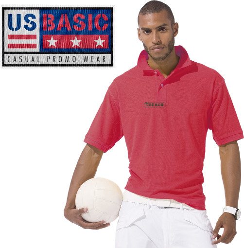 Relatiegeschenk US Basic First Polo bedrukken