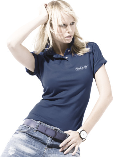 Relatiegeschenk US Basic First Polo Ladies bedrukken