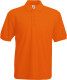 Fruit of the Loom 65/35 Pique Polo Heren - Oranje