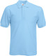 Fruit of the Loom 65/35 Pique Polo Heren - Sky blue