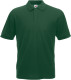 Fruit of the Loom 65/35 Pique Polo Heren - Bottle green