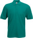 Fruit of the Loom 65/35 Pique Polo Heren - Emerald