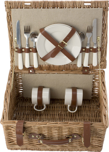 Relatiegeschenk 2-persoons picknickmand Willow