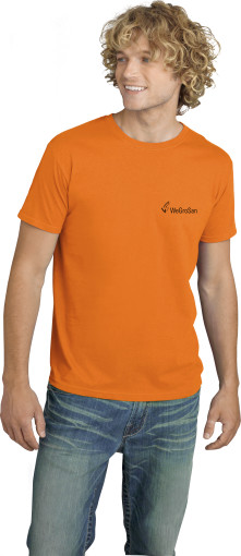 Relatiegeschenk Gildan Soft Style t-shirt for Him bedrukken