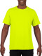 Gildan Performance T-shirt Heren - Fluo groen