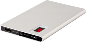 Relatiegeschenk Powerbank Slim met Power Indicatie [4000 mAh]