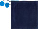 2-in-1 Fleece Sjaal - Blauw