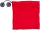 2-in-1 Fleece Sjaal - Rood