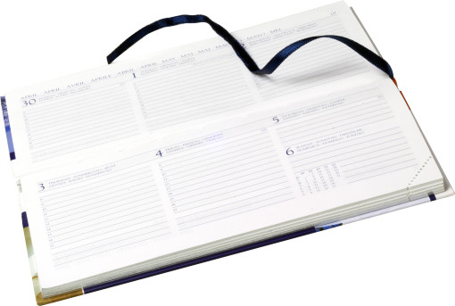 Relatiegeschenk Custom - made full-colour print pointer zakagenda bedrukken