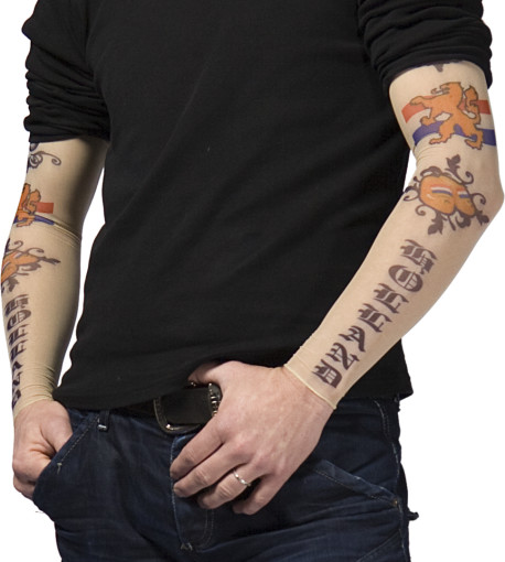 Relatiegeschenk Set van 2 tattoo sleeves