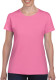 Gildan Heavyweight T-shirt Dames - Azalea