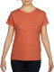 Gildan Heavyweight T-shirt Dames - Sunset orange