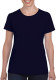 Gildan Heavyweight T-shirt Dames - Navy