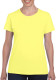 Gildan Heavyweight T-shirt Dames - Corn silk